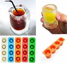 PiniceCore Ice Cube Tray Mold Ice Shot Glass Mold