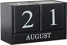 PiniceCore Table Desk Calendar Wooden Calendar