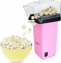 Pink 1200W Electric Hot Air Popcorn Maker Healthy