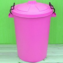 Pink 50 Litre Bin/Storage For Homes Gardens Animal