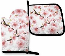 Pink Cherry Blossoms Or Japanese Flowering