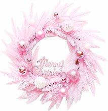 Pink Christmas Merry Christmas Sign Garland