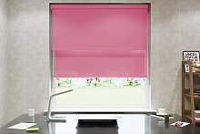 Pink Double Roller Blind