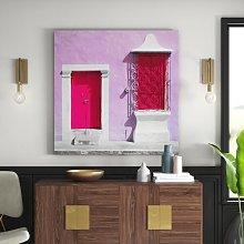 Pink Facade, Pink Door Photographic Print on
