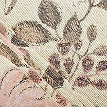 Pink Floral Pattern Beige Colour Upholstery