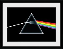 Pink Floyd Dark Side of the Moon Framed Print -