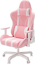 Pink Gaming Chair,High Back Video Game Chair PU