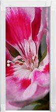 Pink Iris Door Sticker East Urban Home