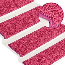 Pink Needle-punched fabric (100% polypropylene)