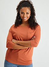 Pink Patch Pocket Top - 10