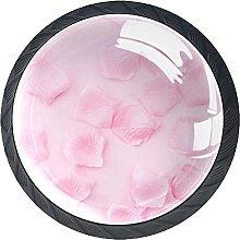 Pink Petals, Modern Minimalist Printing Cupboard