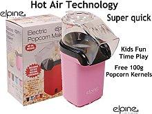 PINK POPCORN MAKER WITH FREE 100g POPCORN KERNELS
