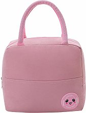Pink Reusable Insulated Lunch Bags for Women,Lunch