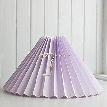 Pink Rose - Light Purple Lampshade