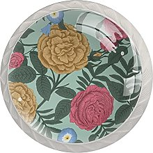 Pink Rose, Modern Minimalist Printing Cupboard