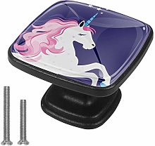 Pink Unicorn Drawer Pulls Handle Cupboard Cabinet
