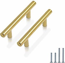 PinLin 10 Pack Cabinet Handles 76mm(3 inch) Hole