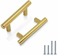 PinLin 10 Pack Cabinet Handles Hole Centre 64mm