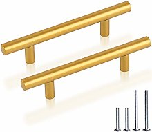 PinLin 10 Pack Cabinet Pulls Hole Spacing 90mm(3.5