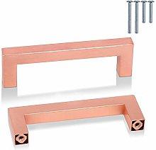 PinLin 20 Pack Kitchen Door Handles Copper 102mm