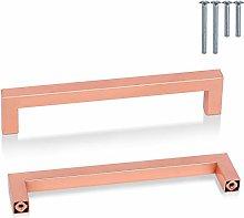 PinLin 20 Pack Kitchen Door Handles Copper 160mm
