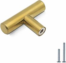PinLin 30 Pack Cabinet Knobs Brushed Brass