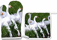 PINLLG Animal Geese Water Birds Oven