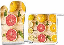 PINLLG Lemons Orange Grapefruit Fruit Oven
