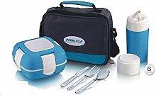 Pinnacle 6 Pieces Mini Thermal Food Carrier Bag,