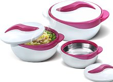 Pinnacle Insulated Casserole Dish with Lid 3 pc.