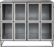 Piobetta black metal cabinet