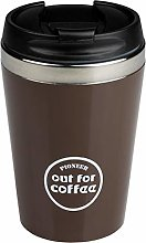 Pioneer Reusable Stainless Steel Travel Coffee Mug