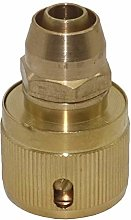 Pipe Hose Irrigation Fitting Kit Brass 3/8""