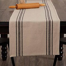 Piper Classics Mill House Stripe Black Table