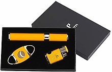 PIPITA Cigar Torch Lighter Set 4 Flame Turbo Jet