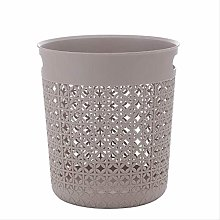 PIPIXIA Trash Can Paper Basket Plastic Household
