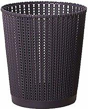 PIPIXIA Trash Can Paper Basket Plastic Living Room