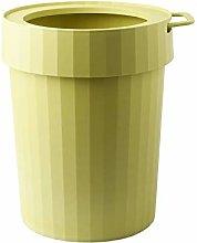 PIPIXIA Trash Can Waste Basket 12L Handle