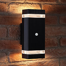 PIR Motion Sensor Double Up & Down Outdoor Wall