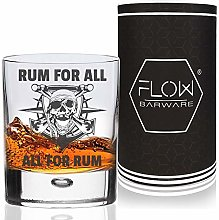 Pirate Rum Glass All for Rum & Rum for All