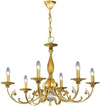 Pisani 6 Light Candle Chandelier Kolarz