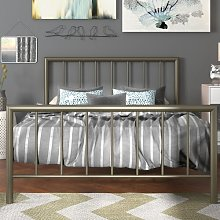 Pisces Bed Frame Wrought Studio