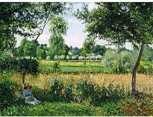 Pissarro Morning Sunlight Effect Eragny Large Wall