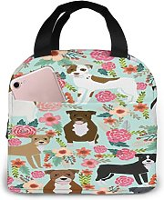 Pitbull Terriers Cute Dogs4 Portable Insulated