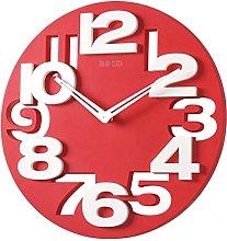 PIXNOR Wall Clock 3D Big Digits Kitchen Home