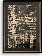 Pizarro I - Abstract Framed Print & Mount, 74 x