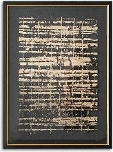 Pizarro II - Abstract Framed Print & Mount, 74 x