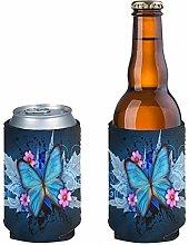 Pizding 2 Pack Durable Slim Beer Can Sleeves,