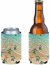 Pizding 2 Pieces Beer Can Sleeves Beer Can Coolers