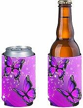 Pizding 2pcs Anti-Slip Standard Beer Can Cooler